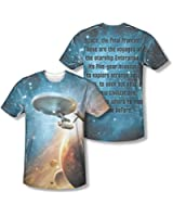 Trevco Inc Boys Star Trek The Final Frontier Sublimated Men's T-Shirt