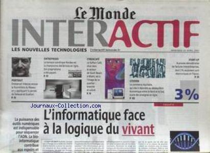 monde-interactif-le-du-25-04-2001-linformatique-face-a-la-logique-du-vivant-emmanuel-videcoq-la-pens