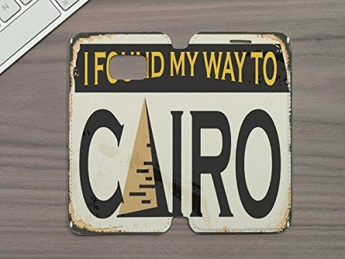 LEotiE SINCE 2004 Handy Tasche passend fÃŒr Samsung S6 Stadt Kairo Ã?gypten