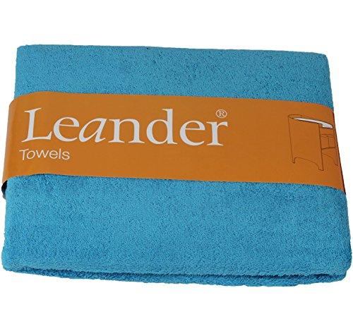 Preisvergleich Produktbild Leander Handtuch für Wickelunterlage 2er Pack in Azur