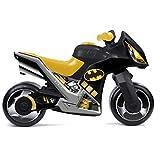 Rutsch Motorrad im Batman Design mit breiten Reifen, dient als Lauflernhilfe für die Kleinen, 73 cm Sitzhöhe 33 cm, geeignet für Innen und Außen, Lauflernrad Rutschfahrzeug fürs Gleichgewicht, Bike, ab 18 Monaten