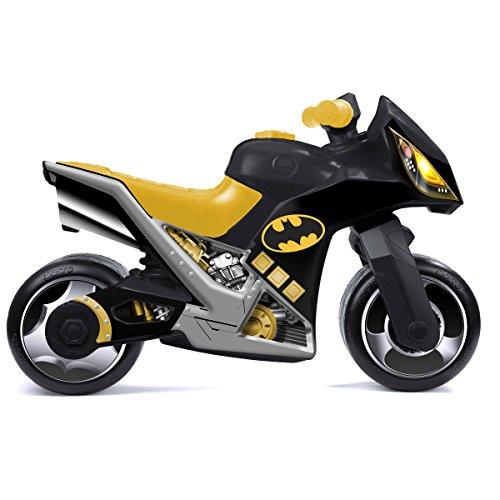 Rutsch Motorrad im Batman Design mit breiten Reifen, dient als Lauflernhilfe für die Kleinen, 73 cm, geeignet für Innen und Außen, Lauflernrad Rutschfahrzeug fürs Gleichgewicht, Bike, ab 18 Monaten