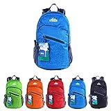 EGOGO multifunktionale haltbar stopfbare handlich leichte Reise Rucksack Daypack Schultasche Wandern Rucksack S2212 (Blau)