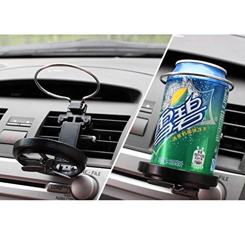 HuntGold Faltbar Universell Auto LKW Entlüfter Tasse Trinken Flaschen-Halter Unterstützung (Lkw Getränkehalter Boden Für)