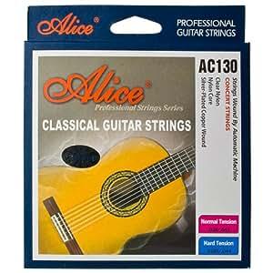 Classical Guitar strings - Normal Tension Nylon Strings ...