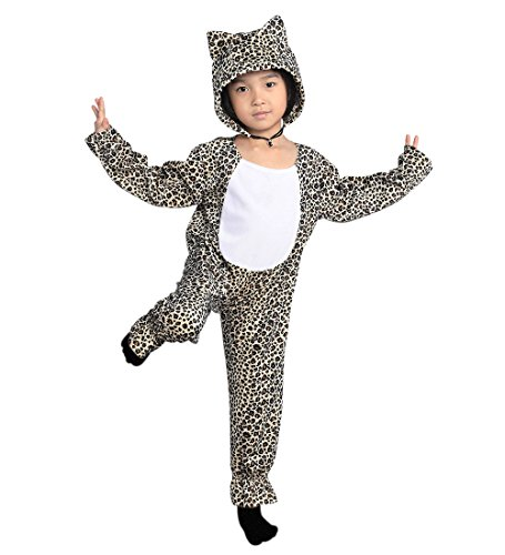 Leoparden-Kostüm, To11 Gr. 92-98, für Klein-Kinder, Baby Babies, Leoparden-Kostüme Leopard Kinder-Kostüme, Fasching Karneval, Karnevalskostüme, Faschingskostüme, Geburtstags-Geschenk Kind (Cheetah Kostüm Kinder)