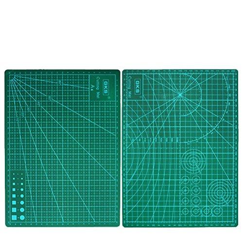 ROSENICE Tapis de coupe 30x22cm Double face Tapis de couture Construction PVC Construction auto-résistant Olfa Mat