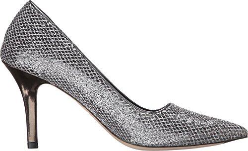 Cole Haan Bradshaw 85 Pump Dress Silver/Gunmetal Glitter/Dark Silver Metallic