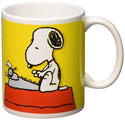 Zak! Designs Ceramic Mug with Peanuts Classic Snoopy Graphics, 11.5 oz. by Zak Designs