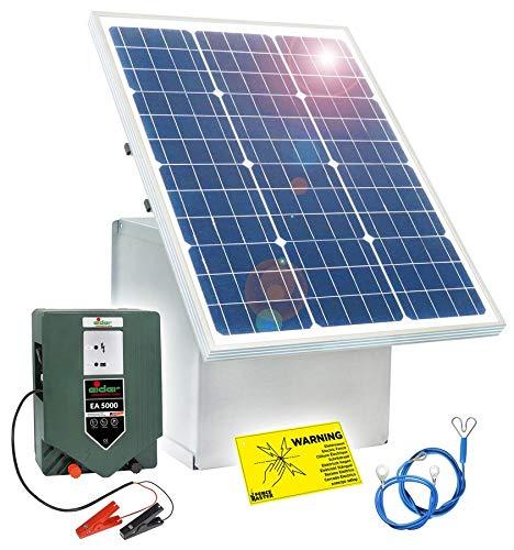 Eider EA 5000 Paquet 1 1 boîte Solaire et clôture 12 V 50 W