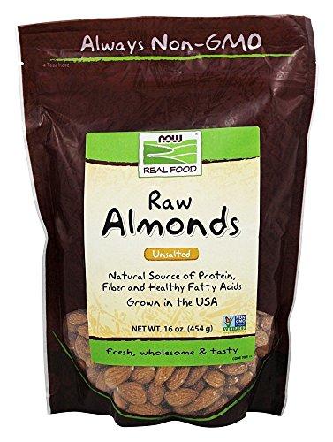 NOW Foods - Rohe Mandeln ungesalzen - 16 Unze.