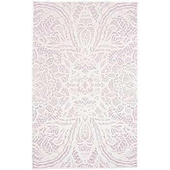 Teppich läufer rosa  Amazon.de: Teppich Läufer mit Rose - Vintage style - Rutschfest ...