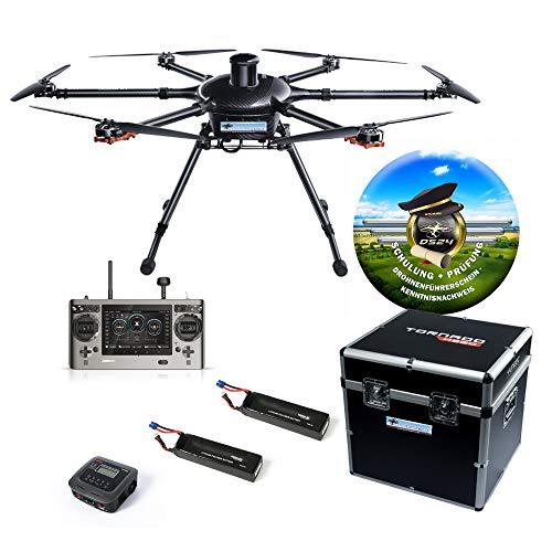 Yuneec Tornado H920 Plus inkl. Online Drohnenführerschein ST16 Bodenstation 2X Akku Transportkoffer Ladegerät