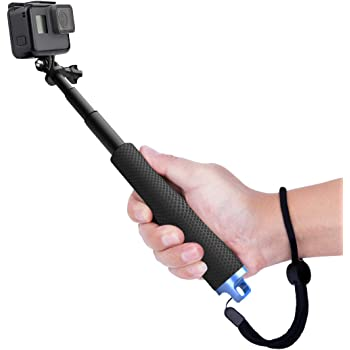 Luxebell Selfie Stick Telescopico in Alluminio, per Gopro Hero 7 6 5, Session 5, Hero 4/3+/3/2