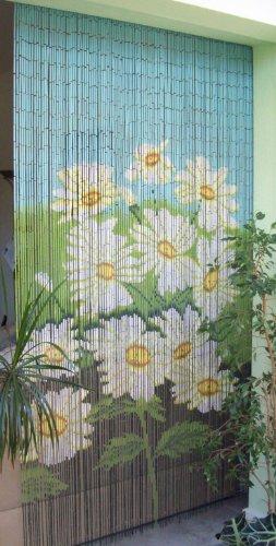 Leguana - Cortina para puerta de bambu ornamento de tamaño aprox 115x220 cm especial !