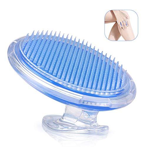 BUYGOO Peeling Körper Bürste - Haut Massage Bürste für Behandlung Verhütung Rasierer Beulen und eingewachsenen Haare, flexible Borstenbürste zum Peeling und Bekämpfung von Cellulite - Körper-peeling-bürste