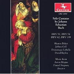 Bach, J.S.: Cantatas - Bwv 51, 54, 82, 199