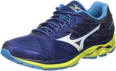 Mizuno Men's Wave Rider 20 Running Shoes, Multicolor (Blue