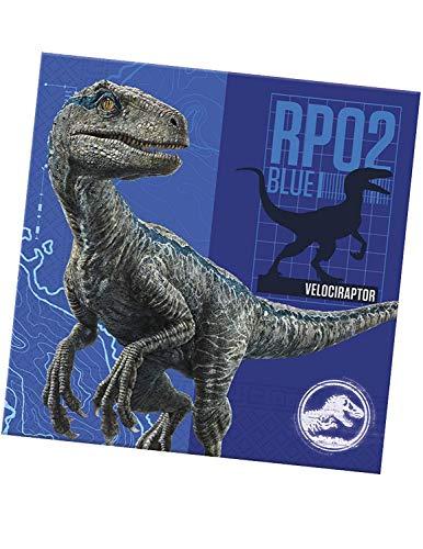 Disney Jurassic World Fallen Kingdom Partyservietten, 20 Stück