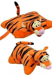 "Disney Tigger Winnie The Pooh Tiger Pillow Pets Cuddle Animal Pillow Plush Extra Large 46x36 cm 18"""