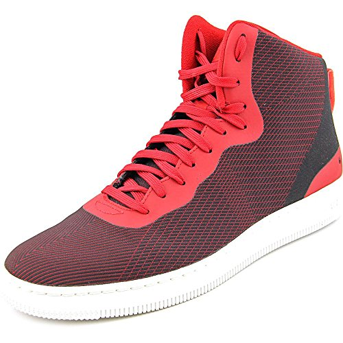 NIKE Herren NSW Pro Stepper Basketballschuhe, Rot/Weiß / Schwarz (Gym Rot/Weiß Gym Red-Gipfel), 42 1/2 EU