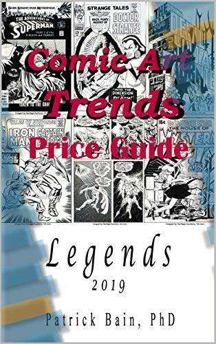 Comic Art Trends Price Guide 2019: Legends (English Edition) eBook ...