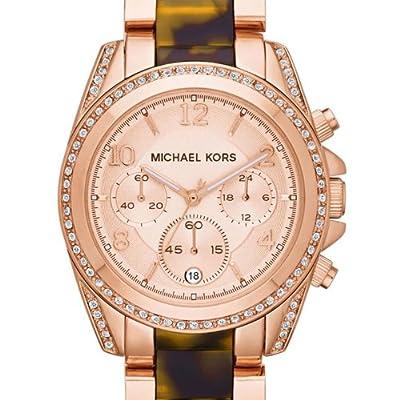 Michael Kors MK5859 - Reloj de pulsera mujer, varios materiales, color multicolor de Michael Kors