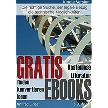 Gratis eBooks – Wie Sie kostenlose eBooks finden – konvertieren – lesen