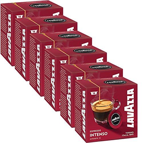 Lavazza A Modo Mio Espresso Intenso 96 Pods for Capsule Coffee Machine, Medium