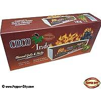 Coco Barbacoa Carbón Premium–Combustión 2horas–También para shisha/Pipa de agua–1kg