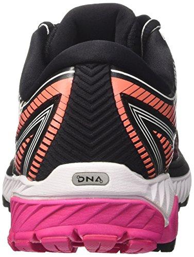 Brooks Ghost 10, Chaussures de Running Femme Multicolore (Blackpinkpeacocklivingcoral 1b067)