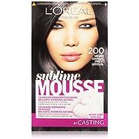 L'Oreal Paris Coloración Permanente Sublime Mousse 200 Negro Sensual - 200 ml
