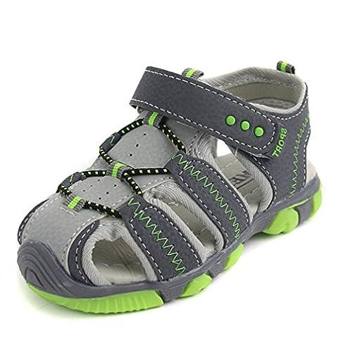 Chaussures pour enfants, Sugou Chaussures pour enfants décontractées Chaussures plates (3 ans, Gris)