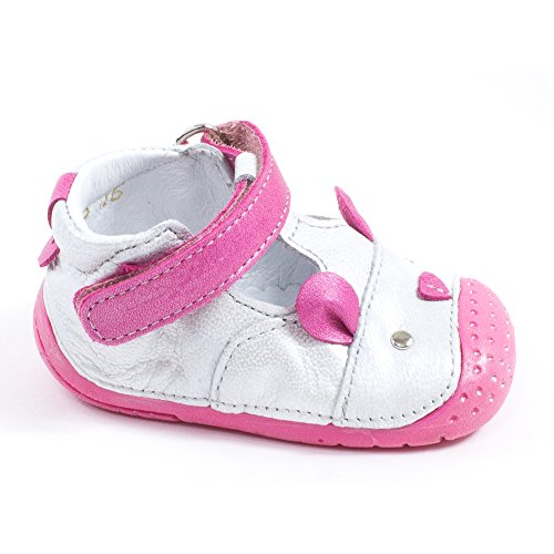 Babybotte Zouris, Chaussures Bébé quatre pattes (1-10 mois) bébé fille Argent