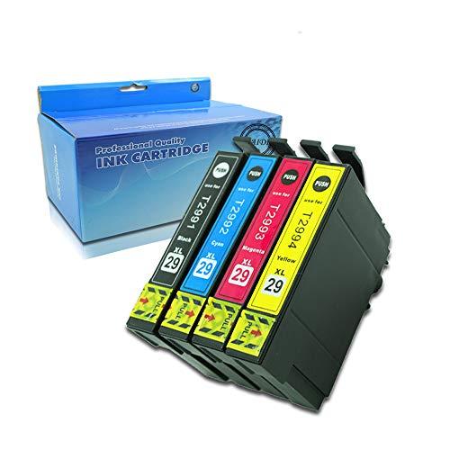 4 x Caidi con nuovo chip aggiornato Epson 29 XL cartucce di inchiostro compatibile per Epson Expression Home xp-332 xp-335 xp-432 xp-435 xp-245 xp-247 xp-342 xp-345 xp-442 xp-445 xp-330 xp-430