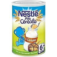 Nestlé p'tite céréale saveur 5 céréales 400g dès 6 mois Prix Unitaire - Envoi Rapide Et Soignée