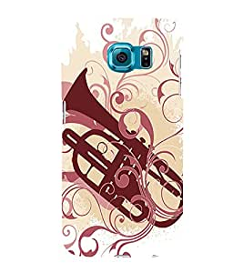 Fuson Premium Printed Hard Plastic Back Case Cover for Samsung Galaxy S6