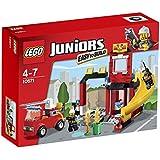LEGO Juniors - 10671 - Jeu De Construction - La Caserne Des Pompiers