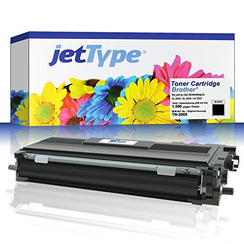 jetType Toner ersetzt Brother TN-2005 für HL-2035 / HL-2035r / HL-2037, schwarz,...
