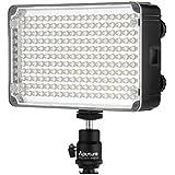 Aputure® AL-H198C CRI 95+ Eclairage Lampe 198 LED pour caméra video de caméscope DV Canon: EOS-1D X EOS 5D Mark III EOS 6D EOS 7D Mark II EOS 7D EOS 70D EOS 60D EOS 60Da EOS 700D EOS 600D EOS 100D EOS 1200D