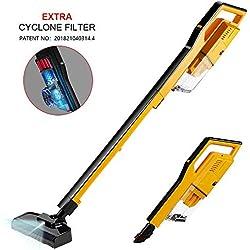 magicelec Vacuum Cleaner Balai sans Fil, 4 en 1 Puissant 7000Pa, 2 Vitesses modurable, Silencieux et Ultraléger Aspirateur sans Sac Portable Puissance Cyclonique Technologie, 18.5 W, 0.8 liters