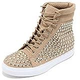Jeffrey Campbell 3340I Sneakers Donna Alva Hi st Croco Calf Scarpe Shoes Women [36]