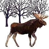weiß braun schwarz Elch Bäume VPE 20 Papier Servietten 13 ' x 13 '