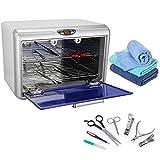 Sterilizzatore UV Sterilizzatore Estetica Estetista Utensili Scatola di Disinfezione Germicida Estetica, per strumenti nail art spazzolino da gioco per bambini giocattoli da tavola (01)