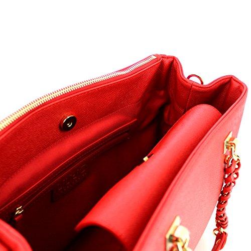 LIU JO ANNA SHOPPING BAG A66004E0087 Rosso