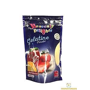 Gelatine Halal Pulver 100g Rindfleisch Gelatine Heavenly Delights