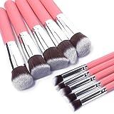 Best Pinceaux de maquillage abordables - XCSOURCE à 10PCS Pinceaux de Maquillage professionnel Pro Review