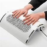 Turefans Aspirador de uñas Succión Colector de Polvo Máquina con Bolsa de Polvo Salón Profesional Uña Polvo Colección Ventilador Clavo Herramientas