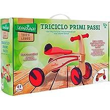 Legnoland - Primeros pasos de madera con 4 ruedas (Globo 37914)