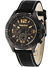 Timberland Men s Chronograph Quartz Watch with Leather Strap TBL.14655JSB-61 6334504fff5